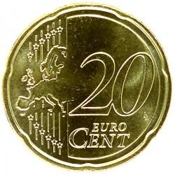 Moneda > 20céntimos, 2017 - Países Bajos  - reverse