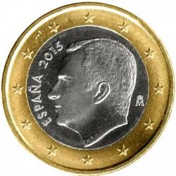 1 Euro 2015 Spanien Km 1327 Münzkatalog Ucoinnet