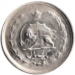 Coin > 1 rial, 1977-1978 - Iran  - reverse