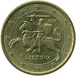 מטבע > 10סנטיורו, 2015-2018 - ליטא  - reverse