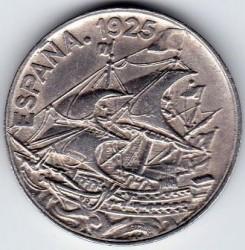 Moeda > 25cêntimos, 1925 - Espanha  - obverse