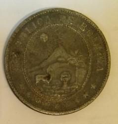 Münze > 20Centavos, 1942 - Bolivien  - reverse