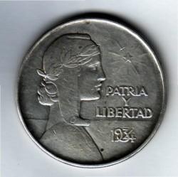 מטבע > 1פסו, 1934-1939 - קובה  - reverse