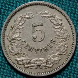 Mynt > 5centimes, 1901 - Luxemburg  - reverse