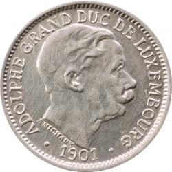 מטבע > 10סנטים, 1901 - לוקסמבורג  - obverse