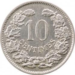 מטבע > 10סנטים, 1901 - לוקסמבורג  - reverse