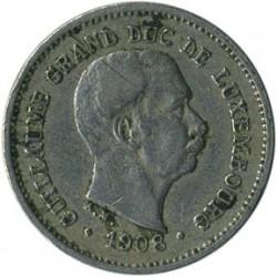 錢幣 > 5生丁, 1908 - 盧森堡  - obverse