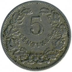 錢幣 > 5生丁, 1908 - 盧森堡  - reverse