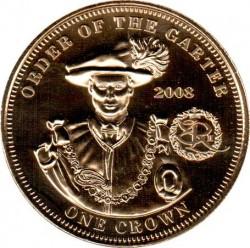 Moneta > 1korona, 2010 - Tristan da Cunha  (1000 lecie Orderu Podwiązki) - reverse