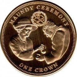 Moneta > 1korona, 2012 - Tristan da Cunha  (Ceremonia Maundy) - reverse