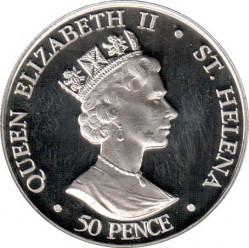 Moneda > 50peniques, 2006 - Santa Elena  (80º aniversario - Nacimiento de Isabel II) - obverse