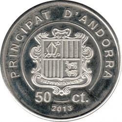 Münze > 50Centimes, 2013 - Andorra  - obverse