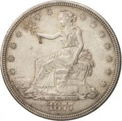 Монета > 1доллар, 1873-1878 - США  (Торговый доллар) - obverse