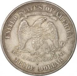 Монета > 1доллар, 1873-1878 - США  (Торговый доллар) - reverse