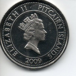 Монета > 20цента, 2009-2010 - Острови Питкерн  - reverse