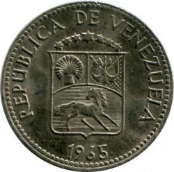Mynt > 5céntimos, 1958-1971 - Venezuela  - obverse