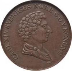 Mynt > 1skillingbanco, 1835-1843 - Sverige  - obverse