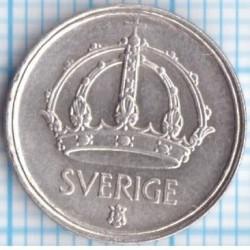 Munt > 10ore, 1943 - Zweden  - obverse
