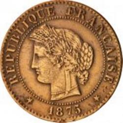 Pièce > 1centime, 1872-1897 - France  - obverse