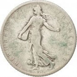 سکه > 1فرانک, 1900 - فرانسه  - obverse