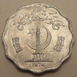 Moneta > 10pajsa, 1974-1981 - Pakistan  - reverse