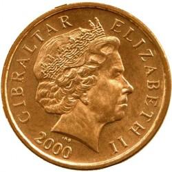 Moneda > 1penique, 1998-2003 - Gibraltar  - obverse