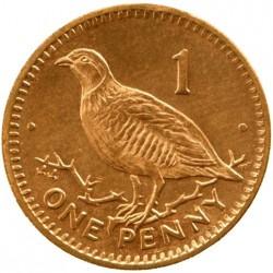 Moneda > 1penique, 1998-2003 - Gibraltar  - reverse