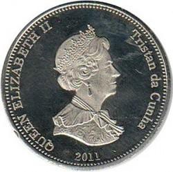 Moneta > 10pensów, 2011 - Tristan da Cunha  (Rekin (Wyspa Nightingale)) - obverse