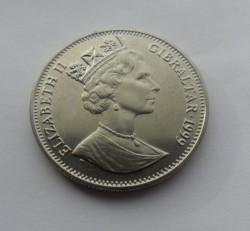 Moneta > 1corona, 1999 - Gibilterra  (Il mondo in guerra - Pearl Harbor) - obverse