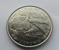 Moneta > 1corona, 1999 - Gibilterra  (Il mondo in guerra - Pearl Harbor) - reverse