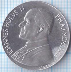Монета > 10лири, 1979-1980 - Ватикан  - obverse