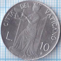 Монета > 10лири, 1979-1980 - Ватикан  - reverse