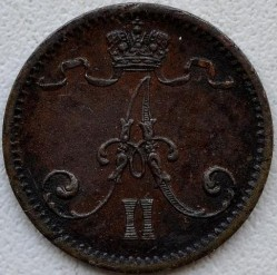 Moneta > 1pensas, 1864-1876 - Suomija  - obverse