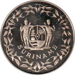 Moneda > 100florines, 1994 - Surinam  (Copa Mundial de la FIFA de 1994/ Brasil ganador/) - obverse