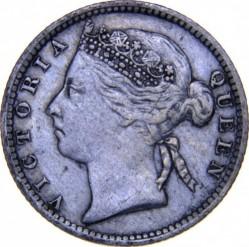 Moneta > 10centesimi, 1871-1901 - Insediamenti dello Stretto  - obverse