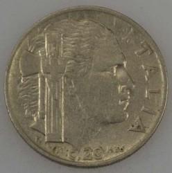 العملة > 20سنتيسيمي, 1936 - إيطاليا  - obverse