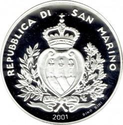 Mynt > 5000lire, 2001 - San Marino  (Last Lire Coinage) - obverse