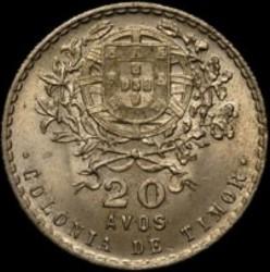 Moneta > 20avosų, 1945 - Portugalijos Timoras  - reverse