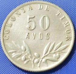 Moneta > 50avosų, 1945-1951 - Portugalijos Timoras  - reverse