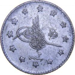 Munt > 1kurus, 1909 - Ottomaanse Rijk  - obverse