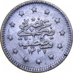 Munt > 1kurus, 1909 - Ottomaanse Rijk  - reverse