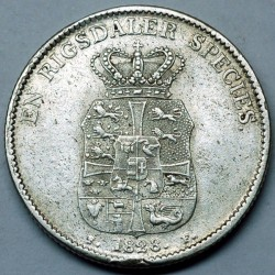 Монета > 1спесиедалер, 1820-1839 - Дания  - obverse