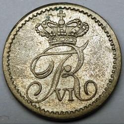 Кованица > 2ригсбанкскилинга, 1836 - Данска  - reverse