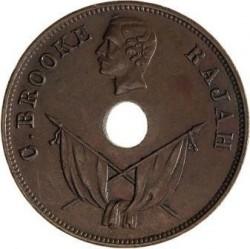 Moneta > 1centesimo, 1892-1897 - Sarawak  - obverse