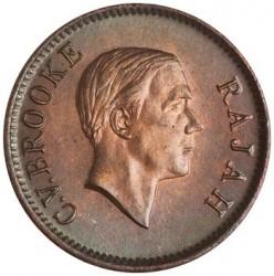 Moneta > 1centesimo, 1927-1941 - Sarawak  - obverse