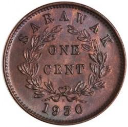 Moneta > 1centesimo, 1927-1941 - Sarawak  - reverse