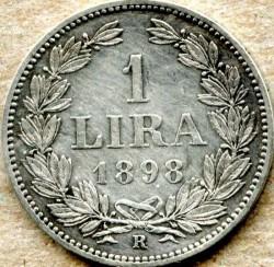 מטבע > 1לירה, 1898-1906 - סן-מרינו  - reverse