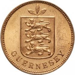 Moneda > 1double, 1868-1911 - Guernsey  - obverse