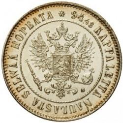 Coin > 1markka, 1864-1915 - Finland  - obverse