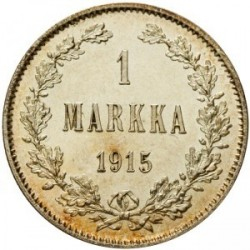 Moneta > 1markka, 1864-1915 - Finlandia  - obverse